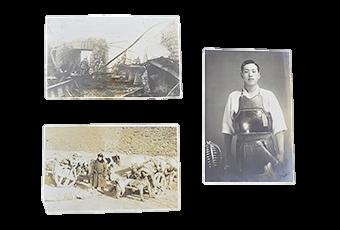 植民地出兵当時の人物、戦地等写真
